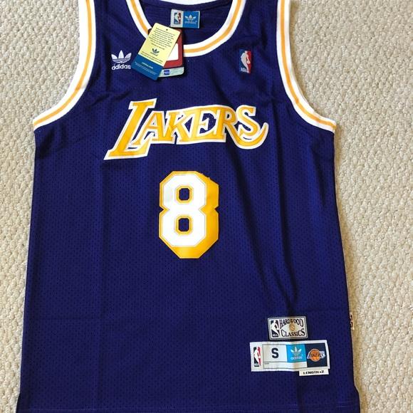 watch 81f37 ba630 Kobe Bryant 8 Los Angeles Laker Purple Jersey NWT